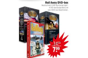 rail away dvd box