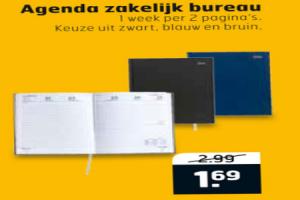 agenda zakelijk bureau