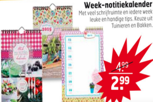 week notitiekalender