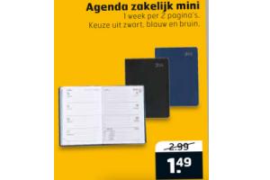 agenda zakelijk mini