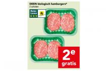 deen biologische hamburgers