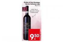 ordine di san giuseppe barolo italiaanse wijn