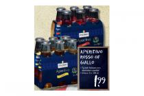 aperitivo rosso of gaillo voor euro199