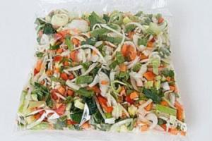merkloos macaronispaghetti groenten