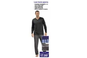 luxe heren pyjama