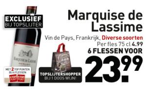 marquise de lassime merlot colombard chardonnay