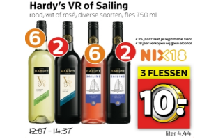hardys vr of sailing