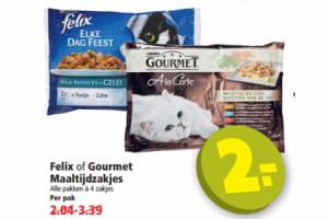 felix of gourmetmaaltijdzakjes