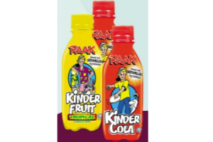 raak kindercola of kinderfruit