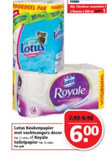 keukenpapier met vochtvangers royale toiletpapier