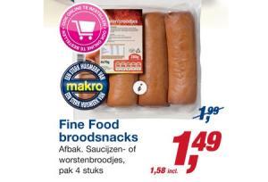 fine food broodsnacks