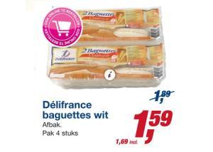 delifrance baguettes wit