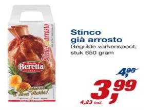 stinco gia arrosto