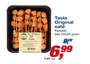 taste original sate
