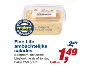 fine life ambachtelijke salades