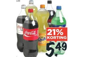 coca cola fanta of sprite