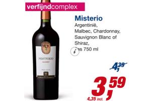 misterio wijn