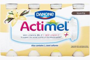 danone actimel drink vanille 8 pack