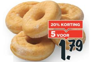 gesuikerde donuts