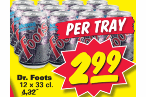 dr. foots 12pack 33cl