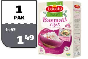lassie rijst extra