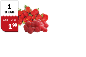 aardbeien of frambozen