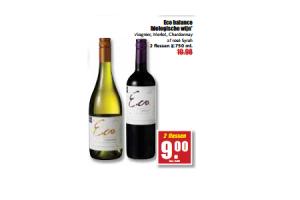 eco balance biologische wijn