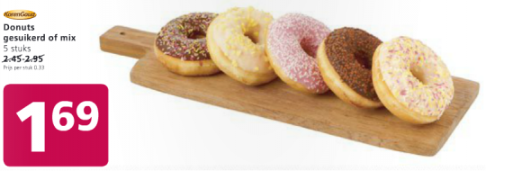 korengoud donuts