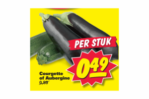 courgette en aubergine