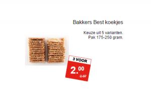 bakkers best koekjes