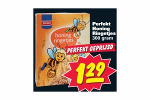 perfekt honingringetjes