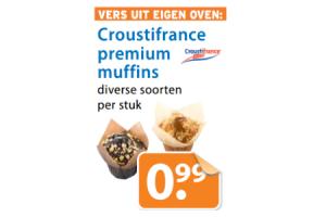 croustifrance premium muffins