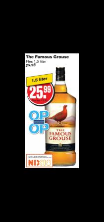 the famous grouse whisky fles 15 liter
