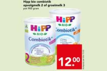 hipp bio combiotik opvolgmelk 2 of groeimelk 3