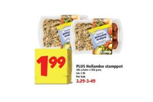 plus hollandse stampot
