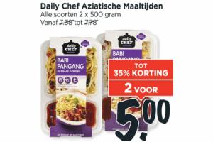 daily chef aziatische maaltijden
