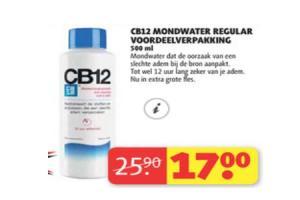 cb12 mondwater regular voordeelverpakking