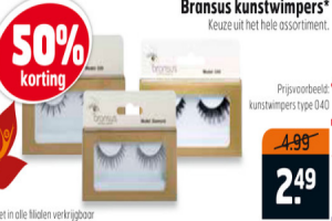 bransus kunstwimpers