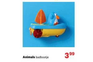 animals badbootje