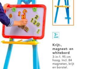 krijt magneet of whiteboard
