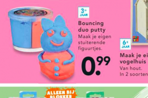 bouncing duo putty