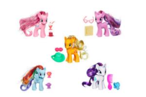 pony met accessoire