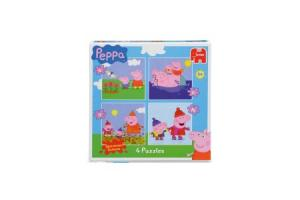 peppa 4 in 1 puzzel
