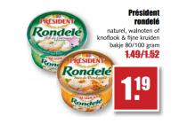 rondele kaas