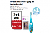 jordan mondverzorging of tandenborstel