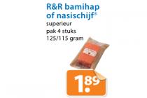 rr bamihap of nasischijf