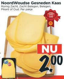 noordwoudse gesneden kaas
