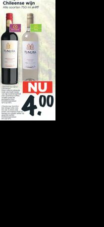 tunupa chileense wijn
