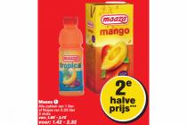 tropische fruitdrank