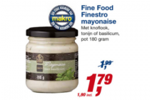 fine food finestro mayonaise